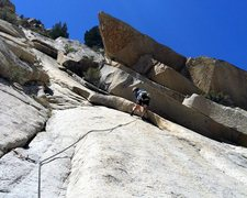 Rock Climbing Photo: Fun climbing on Pitch 2