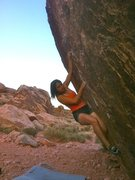 Rock Climbing Photo: Potato Chips at Kraft Boulders
