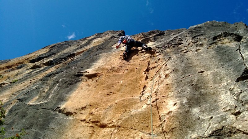 Rock Climbing Photo: Another one of Alex on Rancho