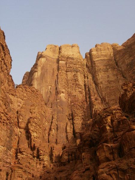 Lionheart, Abu Aina Towers, 6b, ultra-desert classic