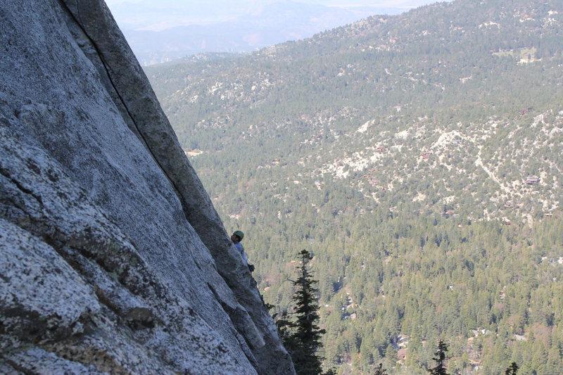 Rock Climbing Photo: Taken from The Trough