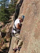 Rock Climbing Photo: Finding the correct cam.