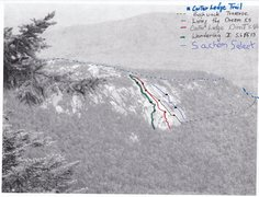 Rock Climbing Photo: All documented routes including Sachem.  Adapted f...