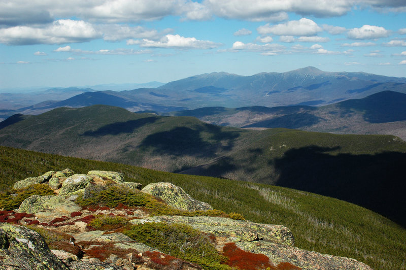 Rock Climbing Photo: The Presidentials from South Twin Mountain