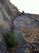 Rock Climbing Photo: The money 2nd pitch.  This pitch alone made the hi...