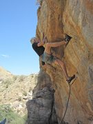 Rock Climbing Photo: Jimbo doing Vince's Girlfriend!