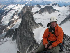 Rock Climbing Photo: Bugaboo Spire summit