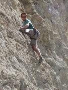Rock Climbing Photo: 10b at the jobsite