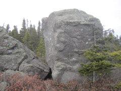 """Rock Climbing Photo: """"Skeet Shooting"""" climbs the left arete o..."""