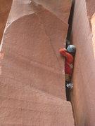 Rock Climbing Photo: sidewinder in way over the blue Big Bro
