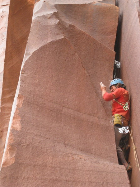 Rock Climbing Photo: #6 in an ready to not breath dirt