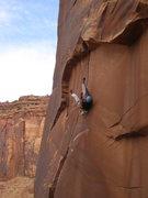 Rock Climbing Photo: then i fell an hit my butt!