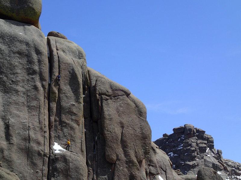 Rock Climbing Photo: Tool or Die.