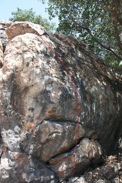 this is a climb i have no completed yet. it is super crimpy with a mono. short but super hard