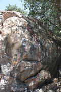 Rock Climbing Photo: this is a climb i have no completed yet. it is sup...