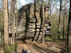 Rock Climbing Photo: backside