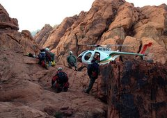 Rock Climbing Photo: LVMPDSAR