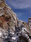 Rock Climbing Photo: Nice smear on the Black Walk.