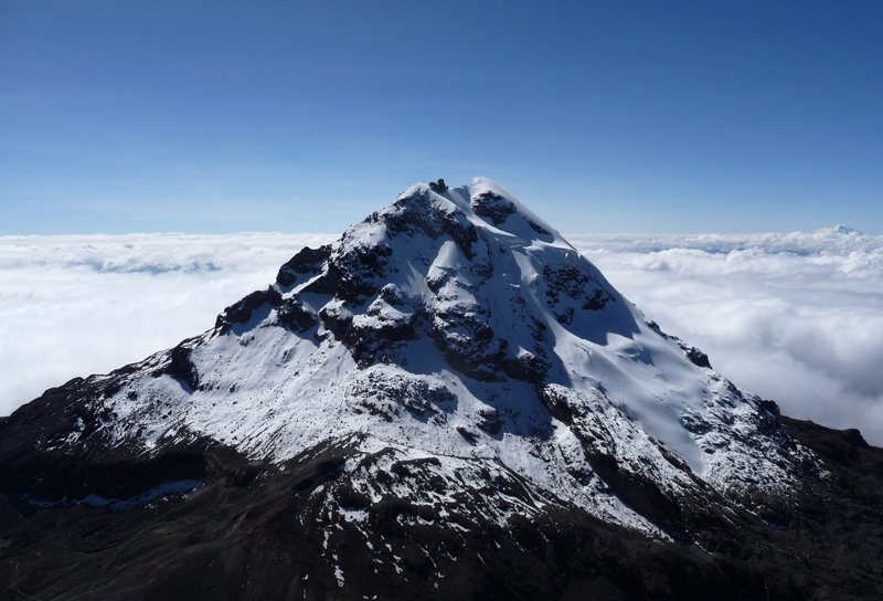 Rock Climbing Photo: Illiniza Sur from Norte