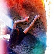 Rock Climbing Photo: pick pocket.