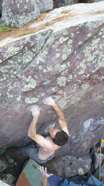 Rock Climbing Photo: The match.