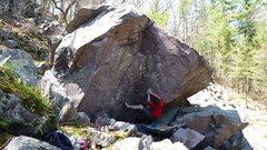Rock Climbing Photo: The start.  Hard. Photos: M. Lohre
