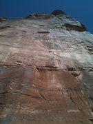 Rock Climbing Photo: Follow the Splitter.
