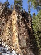 Rock Climbing Photo: Cape of Good Hope, 5.10c.