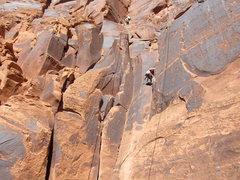 Rock Climbing Photo: Ice Cream Parlor, UT