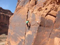 Rock Climbing Photo: at Ice Cream Parlor, UT