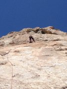 Rock Climbing Photo: 7 Year Itch at The Tall Walls. E on the first pitc...