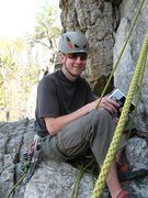 Rock Climbing Photo: Hanging at Seneca