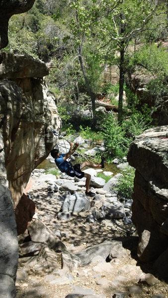 Rock Climbing Photo: Cody tyroleon