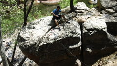 Rock Climbing Photo: Interesting bolt placement