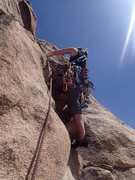 climbing in the lost horse road area