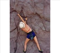 "Rock Climbing Photo: Good stone, little known ""Beach Wall"""