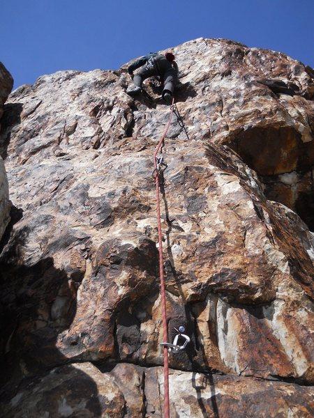 Rock Climbing Photo: Warm Up @ Corral