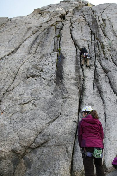 Gabriela leading through No Room for Squares at Pearly Gates. (Photo by Justin Jones)