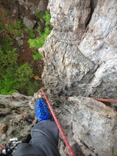 Rock Climbing Photo: ooga chocka