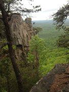 Rock Climbing Photo: Davids Castle