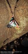 "Rock Climbing Photo: Eddie sending ""Ragger Bagger"". Turkey Ro..."