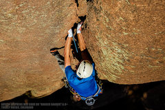 "Rock Climbing Photo: Austin sending ""Ragger Bagger"". Turkey R..."