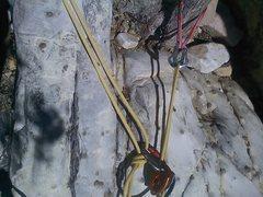 Rock Climbing Photo: anchor at red rocks