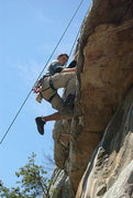 Rock Climbing Photo: Long legs require a different contact point someti...