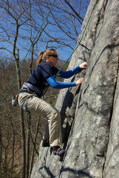 Rock Climbing Photo: Nice spring weather!