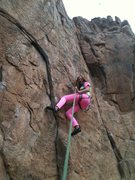 Mona was the first route I tried to lead. Took a fall and my nerves got in the way of finishing the lead. Climbed it on top rope. Loved this climb.