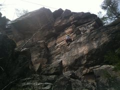 Rock Climbing Photo: Party Wall, Ross Rocks