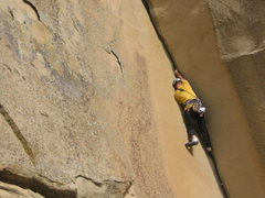 Rock Climbing Photo: Corona Corner FA 3/23/08