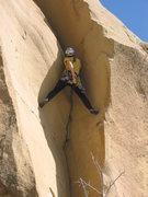 Rock Climbing Photo: Golden Acres FA 3/23/08