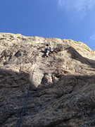 Rock Climbing Photo: Marc on Two Birds with One Stone